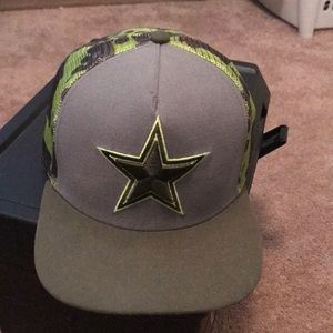 Dallas Cowboys Camo 9Fifty Hat with SnapBack